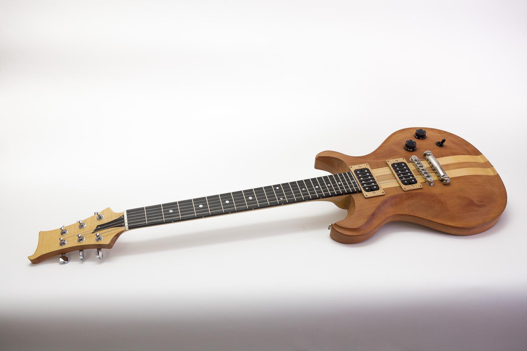 E-Gitarre Birne/Ahorn